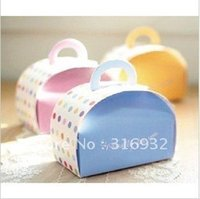 Wholesale E1 Hot Especially for you Cake decorations Cupcake boxes BLUE COLOR