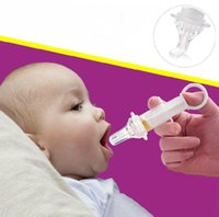 baby medicine feeder - Baby Squeeze Medicine Dropper Dispenser Pacifier Needle Feeder New Supplies Product anti choking water medicine feeder