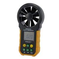air flow volume - Multifunction HYELEC MS6252A Digital Air Speed Anemometer Air Volume Air Flow Test Meter