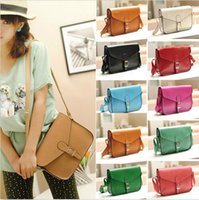 Wholesale New fashion Satchel Women s PU Leather Satchel Shoulder Messenger Bag Handbag purses