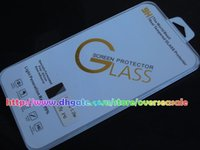 Wholesale For Iphone Plus S Plus S SE C S H mm D Clear Transparent Tempered Glass anti shock screen protector Film