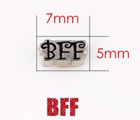 word charms - BFF Words Charms Fit For Memory Living Floating Locket