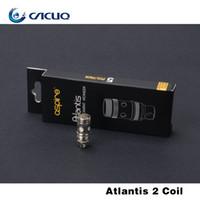 Precio de Bobinas atlantis v2-Auténtico Aspire Atlantis Bobinas 0.3ohm 0.5ohm 1.0ohm BVC Bottom Bobinas Verticales para Atlantis V2 Mega Tanque