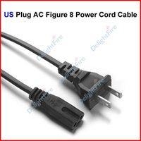 Wholesale US Plug AC Figure Power Cord Cable m FT For Battery Charger AC Power Adapter Laptop