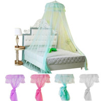 bedding deals - Best Deal New Good Quality Home Round Lace Curtain Dome Bed Canopy Netting Mesh Princess Mosquito Net