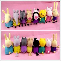 peppa pig - Peppa a Pig Friends Toys Washable Stuffed Animals Plush Baby Dolls Children Girls Birthday Gifts