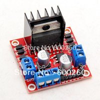 Wholesale Dual H Bridge DC Stepper Motor Drive Controller Board Module Arduino L298N order lt no tracking