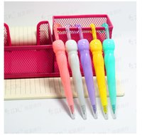 dollar store - Cute candy colored umbrella advertising Gel Ink Pens cartoon luminous event prizes dollar store gift