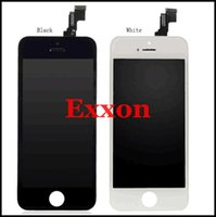 Wholesale Iphone c lcd black white LCD Display Touch Screen Digitizer Full Assembly for iPhone C replacement Repair Parts for DHL free