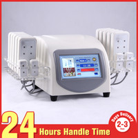 Wholesale New nm nm Diode Lipo Laser Fast Fat Burning Fat Reduction Laser Pads mw Body Shape Slimming Machine