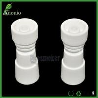 ceramics - Domeless Ceramic Female Nail mm mm Chinese Ceramics Nais Banger Nail for Vaporizer Vaping Ceramic E Naill Smoker Accessories