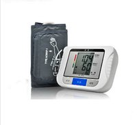 Wholesale 1PCS Digital LCD Wrist Arm Blood Pressure Monitor Heart Beat Meter