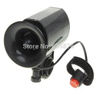 Wholesale 5pcs Sounds Electronic Cycling Bike Bicycle Bell Alarm Ultra loud Electronic Siren Horn Loud Speaker BY order lt no track