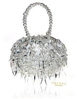 Handbags beaded panels - Evening Bag Clutch bags Bride Bag Purse Try Tassels Designer Slap up Flower Handbag Wedding