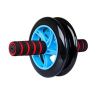 Wholesale Dual Stability No Noise AB Abdominal Waist Wheel Roller Abs Exercise Gym with Knee Pad