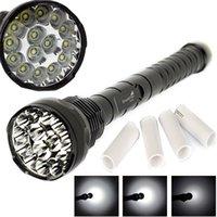 powerful flashlight - Powerful Lumen x XM L T6 Led Flashlight Shockproof Torch Aluminum Lamps Modes by x or x