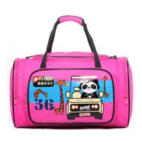 duffel bag - Sweety Girls Travel Bags Pink Color Large Portable Handbags For Childrens Outdoors Duffel Bags Durable Handle On Sale B
