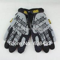Wholesale New Design MECHANIX SEALs Tactical gloves slip gloves full finger Grey color