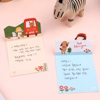 animal writing paper - New Cute Cartoon Girl Animal Self Adhesive Notepad Memo Paper sticky note Writing scratch pad