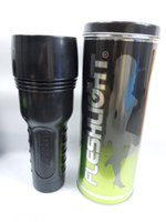 flashlight sex toy - Fleshlight in can packing for man masturbation flashlight artificial vagina real pussy sex toy