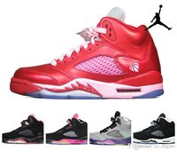 Pink Womens Basketball Shoes Brand New AJ5 retro IV Sneakers J5s