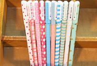 novelty pens - 48 Small fresh gel pen design Highlighter Novelty pen Office accessories school supplies dandys