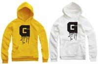 Wholesale 90 cm kids hoodies big G letter printed hoodie G dragon bigbang hoodies pullover for children Color