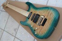 Precio de Guitarra de la mano izquierda verde-Venta al por mayor - la nueva llegada zurda personaliza el verde del jade de la guitarra eléctrica 150516