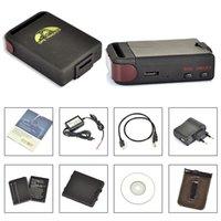Cheap TK102 102B TK102B Realtime Car GPS Tracker GSM GPRS GPS Navigation Vehicle Tracker Quad Band Tracking Device +2 Batteries Set