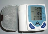 Wholesale Hot sale Home use Automatic Digital Wrist Blood Pressure Monitor Heart Beat Meter Sphygmomanometer Prevent Hypertension