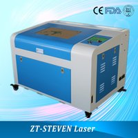 Wholesale 2016 hot sale mini CO2 laser engraver ZT460 with w laser tube for cut plastic and paper Skype stevenboolshi