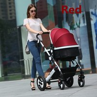 baby trend accessories - New Hot Baby Trends Jogger Stroller With All Accessories Colors For Option In Baby Carrinho For Children High Quality