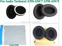audio technical - pair Replacement Pad Ear pads Cushion for l ATH ANC7 ATH ANC9 Headphones