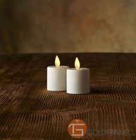 battery votives - Luminara Style X Rechargeable Flameless LED Tea Candle Light with Votives Adaptor Options