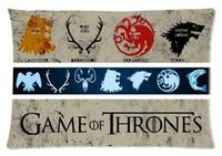 Wholesale Custom Unique Game of Thrones Printed for Inch Pillow Case Cover two Sides