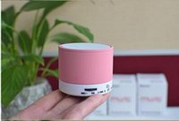 Wholesale S10 Bluetooth Speakers Mini Wireless Portable Speakers HI FI Music Player Home Audio for iphone iphone Mp3 Player