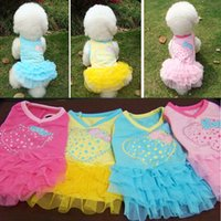 Dresses Spring/Summer Chirstmas Heart & Diamond Spring and Summer Clothing Apparel Teddy Clothes pet dog bitter fleabane dress
