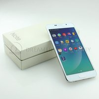 Wholesale Andriod5 HDC Note SM N9200 MTK6582 Quad Core Resolution S Note Metal Frame Fake G Show Smart Phones Nano Card