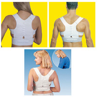 Wholesale Magnetic Posture Corrector Braces Support Body Back Pain Belt Brace Shoulder For Men Women Care Health Adjustable Posture Band