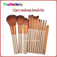 hair brush set - Makeup Tools Accessories makeup brushes kit with retail box Cosmetic make up brushes set Popular Eyeshadow Foundation Shade Tool