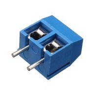 Wholesale 50pcs pins Printed Circuit Board Connector Block Screw Terminals