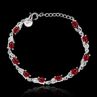 best unique christmas gifts - Best sale Christmas gift unique design high Quality elegant sterling silver fashion pretty nice Women lady popular Bracelet jewelry H350
