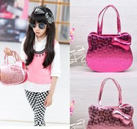 Wholesale New products korean kids hangbags cute hellow kitty modelling bags for girls princess style fashion children messenger bag ab2999 XQZ