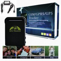 Cheap US Stock Car Vehicle GPS Tracker TK102B GSM GPRS SMS Sender PC online Tracker Realtime tracking device personal child kids Track device