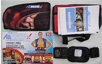 Wholesale High quality women men Ab Tronic X2 Dual Fitness Belt belt slimming belt vibration belt