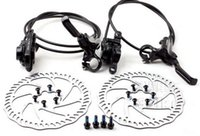 Wholesale Tektro original hydraulic disc black front left right rear hd m290 bicycle brake