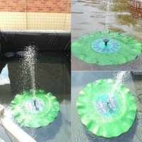 Wholesale Practical V W Portable Solar Power Decorative Fountain Pond Brushless Water Pump Garden Ornaments