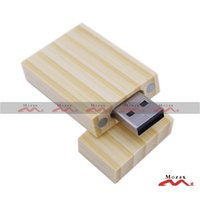 bamboo thumb drive - 128MB Thumb Stick Pendrive Color Memory Flash USB Drive Factory OEM Customized Logo Service Natural Bamboo