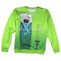adventure time sword - 2015 latest style high quality fashion Women Men Adventure time dog sword Print HD D Sweatshirts Hoodies Galaxy Tops