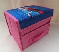 Wholesale Frozen Elsa Anna Collapsible Storage Boxes Children s Cartoon Storage Boxes Bins New Arrival Size about cm